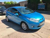 2010 FORD FIESTA ZETEC 5 DOOR 1.4 PETROL, MANUAL, 81,000 MILES WARRANTED