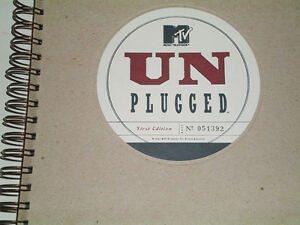 MTV Unplugged First Edition Book Spiral-Bound London Ontario image 5