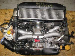 02 05 SUBARU IMPREZA WRX EJ205 2.0L AVCS DOHC ENGINE JDM EJ20T