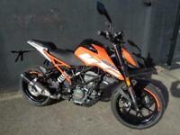 KTM DUKE 125 ABS MOTORCYCLE