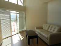 Furnished one bedroom condo with lake view available Jan 1