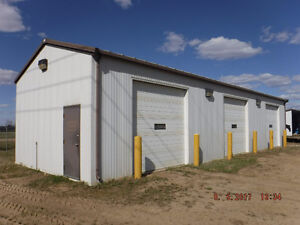 1 Bay Heated Shop For Lease