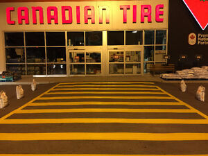 PARKING LOT LINE PAINTING AND PAVEMENT MARKINGS Cambridge Kitchener Area image 2