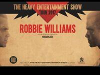 Robbie Williams tickets x 4 (would split 2&2)