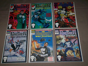 BIG LOT OF 58 COMICS PUNISHER - WOLVERINE - YOUNGBLOOD MANY #1s