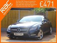 2012 Mercedes-Benz CLS 2.1 CDI AMG Sport BlueEfficiency 7G-Tronic Auto Shooting