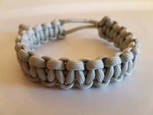Custom 'Mad Max' style Paracord Survival Bracelet