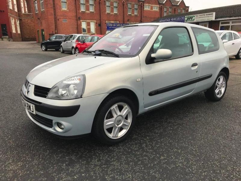 2004 renault clio 1.2 16v dynamique 3dr | in crewe, cheshire | gumtree