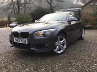 BMW 120 2.0TD ( 184bhp ) 4X4 xDrive Sports Hatch 2013MY d M Sport