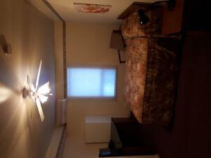 Appartement 1 1/2 à louer au Centre-ville de Rivière du loup.