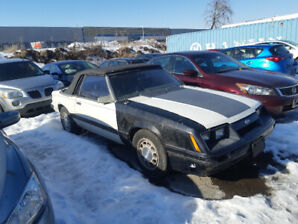 1985 Mustang convertible for sale