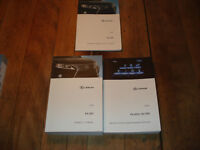 kit of 3  english manuals for lexus rx350 2015