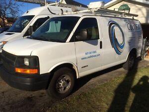 2005 Chevy Express G2500 Cargo Van