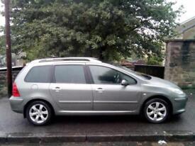 Peugeot 307 SW 1.6HDi SE 2007 (07)**7 Seater**Diesel**July 2019 MOT