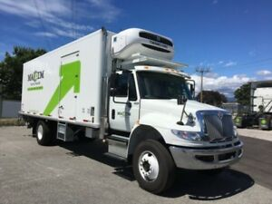 2019 International 4300 SBA 4X2, Used Reefer Van