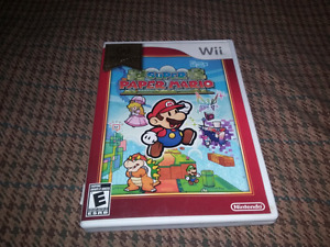 for sale super paper Mario wii.