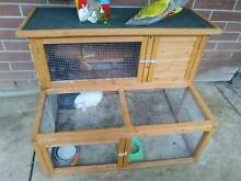 Rabbits and cage Christies Beach Morphett Vale Area Preview