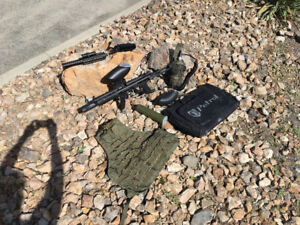 BT DELTA ELITE TACTICAL PAINTBALL GUN
