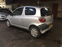 2003 Toyota Yaris 1.0 GS reliable car Vauxhall Renault Clio Corsa cheap tax and insurance