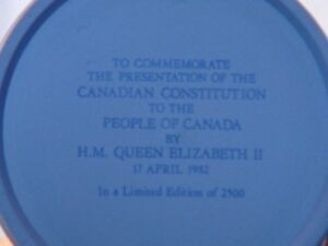 wedgwood Constitution Mug and Canada Day Plate London Ontario image 6