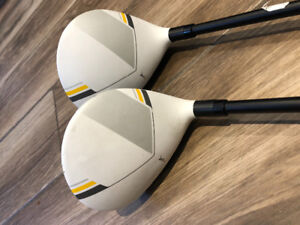 Taylormade RBZ stage 2 Fairway woods- 3 and 5 $120