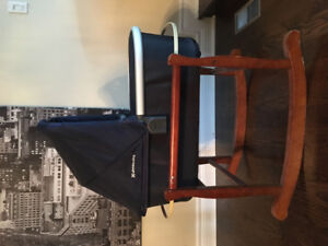 UppaBaby Vista 2017 Bassinet in Navy Blue for Sale (like new)