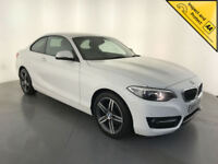 2014 64 BMW 220D SPORT COUPE DIESEL SERVICE HISTORY FINANCE PX WELCOME