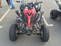 Yamaha raptor 700R special edition 62 plate low milage road legal quad bike