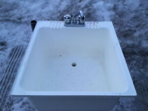 Laundry Tub and Faucets