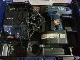 AEG 18v Cordless hammer drill