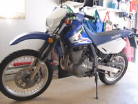 Street and Trail Suzuki DR650