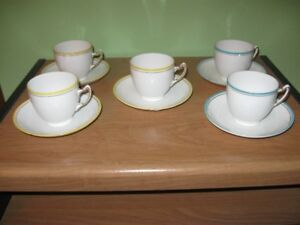 CUPS AND SAUCERS - VINTAGE - REDUCED!!!!
