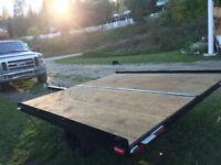 Tilt Deck Quad/Sled (2) Trailer