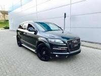 2008 08 Audi Q7 3.0 TDI quattro S Line Black + PANORAMIC SUNROOF + Full Leather