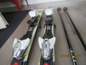 Salomon Skis, Women's Nordica Boots, Scott Poles & Helmut