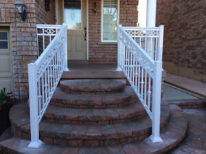 Aluminum, Glass and Iron Railings