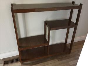 Mid Century Retro Display Shelf Unit