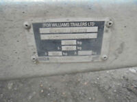 ifor williams 3500 cwt flat bed