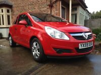 Vauxhall Corsa Active 1.2 petrol 3 door 59 plate low mileage immaculate condition full MOT