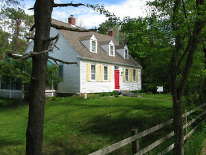 """Creed House"" - Full Cape Cod in Scenic Mill Village, Queens Co."
