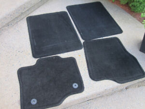 Ford F-150 S Floor Mats 2015-18 - Carpeted, Black, 4-Piece Set