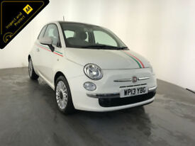 2014 64 FIAT 500 LOUNGE 3 DOOR HATCHBACK SERVICE HISTORY FINANCE PX WELCOME