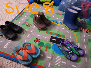 Toddler boys shoes & boots $20 for all 8 pairs
