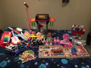 Lot de jouets
