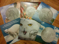 RCM Silver Coins $20/$50/$100 series collectable coins