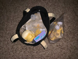 Medela Breast pump and accessories for sale