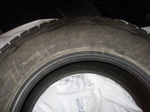 4 BRIDGESTONE WINTER TIRES LIKE NEW