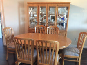 Dining set with buffet & hutch - $2200 OBO