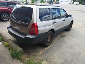 Subaru forester 05 AWD