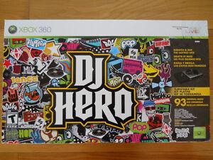 NEW!  DJ Hero Turntable Kit for XBOX 360